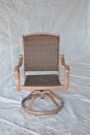 Swivel Outdoor Patio Chairs Santa Clara Outdoor Patio Set Of 4 Swivel Rocker Dining Chair