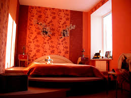deco chambre orange déco chambre adulte orange