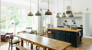 a unique arts and crafts kitchen with shaker style in the uk