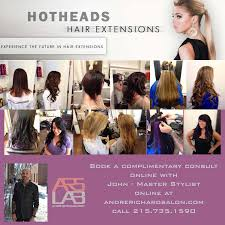 hot heads extensions hotheads hair extensions in philadelphia andre richard salon