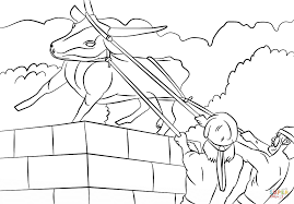 coloring pages king josiah josiah destroyed the golden calf coloring page free printable