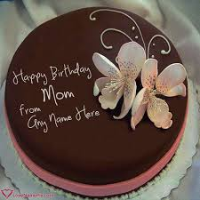 Birthday Cake Maker For Mother Online Name Generator