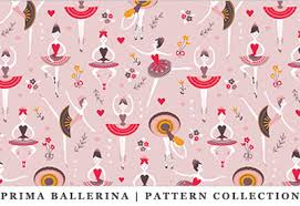 ballerina wrapping paper home marta berk illustrator designer of characters and