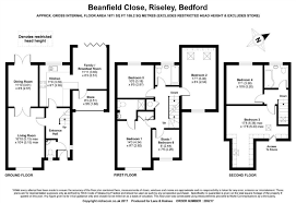 beanfield close riseley bedford mk44 5 bedroom terraced house