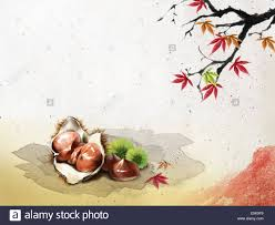 autumn and korean thanksgiving day stock photo royalty free image