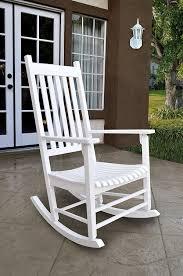 Broken Rocking Chair Amazon Com Shine Company Vermont Porch Rocker White Patio