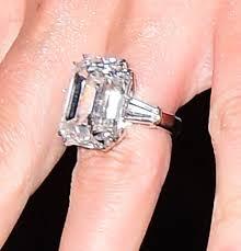 ring engaged see carey s 35 carat diamond engagement ring up