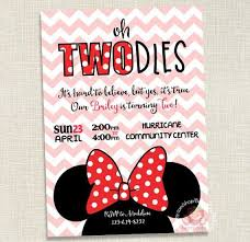 minnie mouse invitations minnie mouse birthday invitation two year can be