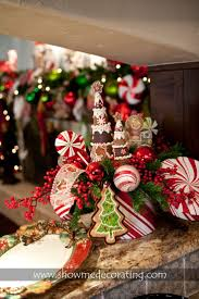 gingerbread centerpiece christmas decorating pinterest