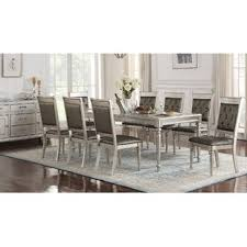 Mirrored Dining Room Furniture Mirrored Kitchen Dining Room Sets You Ll Wayfair