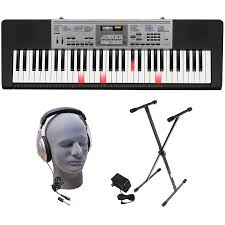 yamaha keyboard lighted keys casio lk 175 lighted key premium keyboard pack with headphones