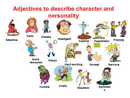 describe it personality adjectives coaching center