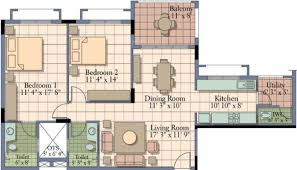1400 Sq Ft 1400 Sq Ft 2 Bhk 2t Apartment For Sale In Ukn Properties Belvista