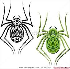 tribal spider tattoos designs tattoo viewer com