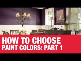 how to choose paint colors part 1 ace hardware youtube