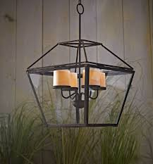 Battery Operated Gazebo Chandelier by Country Living Candle Chandelier With Led Candles Shop Your Way