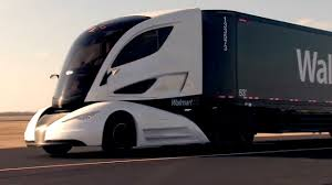 volvo cabover trucks walmart u0027s new truck prototype has stunning design youtube