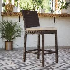 Bar Height Patio Chairs by Outdoor Bar Height Stools Hayneedle