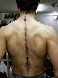 Tattoos For Guys - 75 spine tattoos for masculine ink design ideas