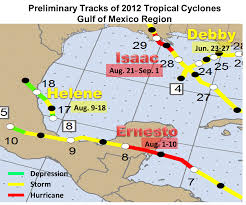 Mexico Hurricane Map by Quick Review Of The 2012 Atlantic Hurricane Season For The Rio