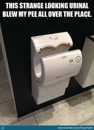 Dyson Airblade Meme - strange looking urinal by fraunhofer meme center