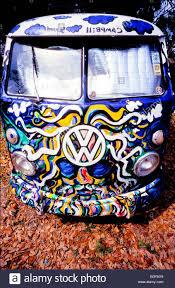 volkswagen bus painting camper van 1960s stock photos u0026 camper van 1960s stock images alamy