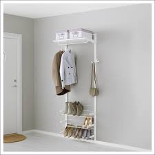 furniture fabulous ikea coat rack slim shoe cupboard enclosed