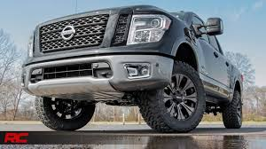 nissan frontier suspension lift 2017 nissan titan non xd 3 inch bolt in suspension lift kit by