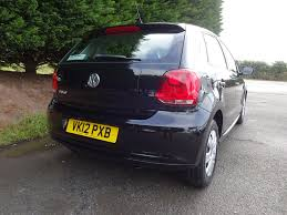 black volkswagen polo used diamond black vw polo for sale herefordshire