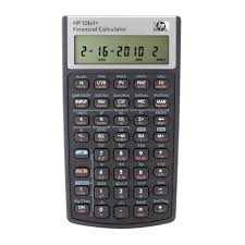 hp 10bii financial calculator black officeworks