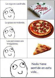 Meme Pizza - imagen graciosa de meme de las pizzas y el porque pizza
