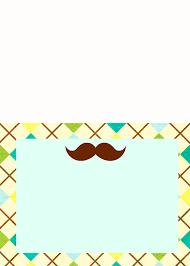 little man mustache baby shower bella printables