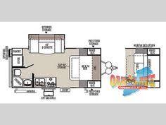 Rockwood Travel Trailer Floor Plans Micro Floor Plans Palomino Gazelle Micro Lite Travel Trailer