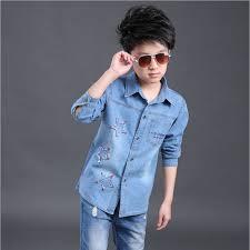boys outwear clothes boys casual shirt cowboys clothes