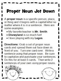 all worksheets common and proper noun worksheets for grade 3