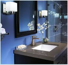 royal blue bathroom accessories