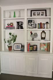 Built In Shelves Living Room Fireplace Shelving Units How To Decorate Bookshelves Around With