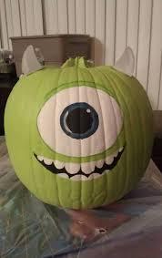 25 mike wazowski pumpkin ideas good