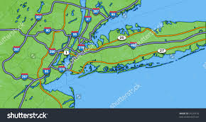 map of nyc areas map of new york city and surrounding areas major within