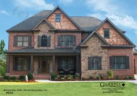 Luxury Craftsman Style Home Plans Garrell Associates Inc Wyndham House Plan 98005 Front