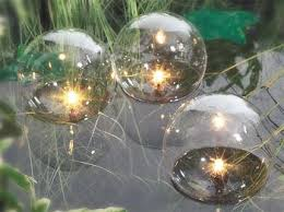 floating globe pond lights set of 3 19 99