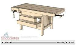Woodworking Plans For Free Workbench by Work Bench 102 Woodworking Plans And Information At