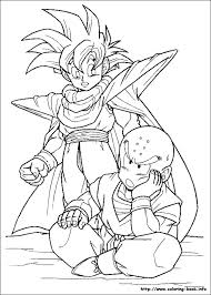 coloring pictures goku free download