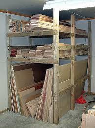 Plywood Storage Rack Free Plans by Best 25 Lumber Storage Ideas On Pinterest Wood Storage Rack