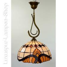 Wohnzimmer Lampen G Stig Hängende Deckenlampe Im Tiffany Stil