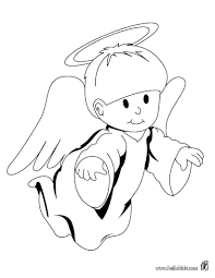 image detail for cute angel coloring page christmas angel