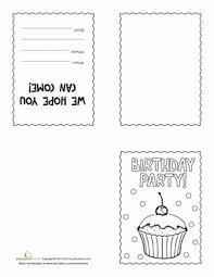make your own birthday invitations education com