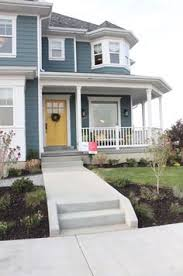 House Exterior Paint Ideas Lakefront Cottage With Coastal Interiors Homebunch Com