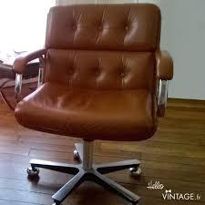 fauteuil de bureau cuir vintage fauteuil bureau cuir marron chaise de bureau prestige marron