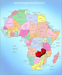 Map Of Africa Political by Map Of Africa Zambia Deboomfotografie